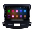 OEM 9 inch Android 9.0 Radio GPS navigation system for 2006-2014 Mitsubishi OUTLANDER Bluetooth HD 1024*600 touch screen OBD2 DVR TV 1080P Video 4G WIFI Steering Wheel Control USB backup camera Mirror link