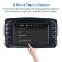 Pure Android 8.0 In Dash DVD GPS System for 1998 1999 2000 2001 2002 2003 2004 Mercedes Benz CLK W209 with Bluetooth Radio RDS 3G WiFi