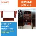 Fantastic Double Din 2001 2002 2003 2004 2005 2006 Lexus LS430 Car Radio Fascia DVD Panel Dash Kit Fitting Frame