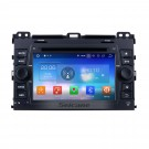 OEM Android 8.0 Sat Nav System for 2002-2009 Toyota Prado Cruiser with 1024*600 Multi-touch Capacitive Screen DVD Player AM FM Radio 3G WiFi Bluetooth Music Mirror Link OBD2 AUX Steering Wheel Control