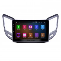 Android 9.0 9 inch GPS Navigation Radio for 2016-2019 Changan CS15 with HD Touchscreen Carplay Bluetooth WIFI USB AUX support TPMS OBD2