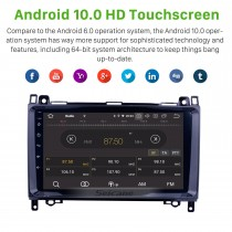 2004-2012 Mercedes Benz B Class W245 B150 B160 B170 B180 B200 B55 Android 9.0 Radio 9 inch 1024*600 Touchscreen Bluetooth music Multimedia Navigation System WiFi Mirror Link 1080P Video