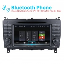 7 inch Android 7.1 Car DVD player for Mercedes-Benz CLS W219 with GPS Radio TV Bluetooth