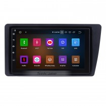 Multi-touch Android 9.0 Head Unit GPS for 2001-2005 Honda Civic with Radio RDS 3G WiFi Bluetooth 1080P Mirror Link OBD2