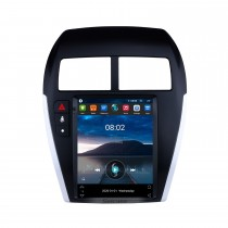 9.7 Inch 2013-2018 Mitsubishi ASX Android 10.0 Radio GPS Navigation system with 4G WiFi Touch Screen TPMS DVR OBD II Rear camera AUX Steering Wheel Control USB SD Bluetooth HD 1080P Video