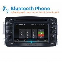 Aftermarket Android 8.0 GPS Navigation system for 2000-2005 Mercedes-Benz C-Class W203 C180 C200 C220 C230 C240 C270 C280 C320 with DVD Player Touch Screen Radio WiFi TV HD 1080P Video Rearview Camera steering wheel control USB SD Bluetooth