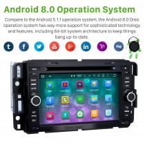 OEM Android 8.0 GPS Navigation System for 2007-2011 Chevrolet Chevy Silverado with Radio DVD player Bluetooth Touch Screen DVR Steering Wheel Control WIFI
