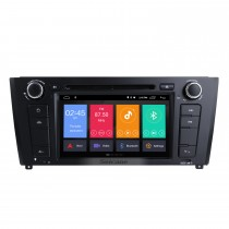 7 inch Android 10.0 HD Touchscreen 1024*600 2004-2012 BMW 1 Series E81 E82 116i 118i 120i 130i with Bluetooth Radio DVD Navigation System AUX WIFI Mirror Link OBD2