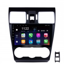 9 Inch OEM Android 8.1 Radio Touch Screen Bluetooth GPS Navigation system For 2015 2016 2017 Subaru Forester Support 3G WiFi TPMS DVR OBD II Rear camera USB SD