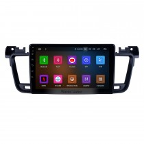 OEM 9 inch Android 9.0 for 2011 2012 2013-2017 Peugeot 508 Radio with Bluetooth HD Touchscreen GPS Navigation System Carplay support DSP
