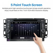 Android 8.0 GPS navigation system  for 2002-2010 Chevy Chevrolet OPTRA with HD 1024*600 touch screen DVD player Radio Bluetooth OBD2 DVR Rearview camera TV 1080P Video 3G WIFI Steering Wheel Control USB Mirror link