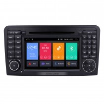7 inch HD Touchscreen Android 9.0 Bluetooth Radio GPS Navigation Stereo for 2005-2012 Mercedes Benz ML Class W164 ML350 M300 ML450 ML500 ML320 ML420 ML450 ML500 DVD Player Replacement Support Rearview Camera DVR OBD2