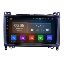 9 inch 1024*600 touchscreen Radio for 2006-2012 Mercedes Benz Sprinter 211 CDI 309 CDI 311 CDI 509 CDI Benz A-class W169 A150 A170  Benz B-class W245 B170 B200 Benz Viano Vito W639  Benz W315 W318 Android 10.0 In Das