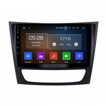 HD Touchscreen 9 inch Android 10.0 Radio GPS Navigation Head unit  for 2002-2008 Mercedes Benz E W211 E200 E220 E230 E240 E270 E280 E300 E320 with USB WiFi Bluetooth support DVD Player OBD2 Steering Wheel Control