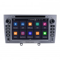 Android 9.0 1024*600 2010 2011 PEUGEOT 408 Radio DVD GPS Navigation System with Touchscreen Bluetooth Wifi Backup Camera Bluetooth Steering Wheel Control OBD2 DAB+ DVR