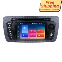 2 Din Radio Android 8.0 DVD Player Bluetooth GPS Navigation system for 2009 2010 2011 2012 2013 SEAT IBIZA USB SD IPOD Mirror Link WIFI Stereo Support Steering Wheel Control Rearview Camera DVR