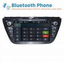 8 inch 2013 2014 Suzuki S Cross Android 8.0 Radio DVD GPS navigation system with HD 1024*600 touch screen Bluetooth OBD2 DVR Rearview camera TV 1080P Video USB SD 3G WIFI Steering Wheel Control Mirror link
