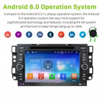 OEM Android 8.0 GPS navigation system for 2005-2008 Chevy Chevrolet SPARK with  DVD player Radio HD 1024*600 touch screen OBD2 DVR Rearview camera TV 1080P Video 3G WIFI Steering Wheel Control Bluetooth USB Mirror link
