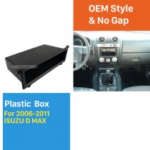 Multi-purpose Storage Black Plactic Free Box Car Kit for 2006-2011 ISUZU D MAX
