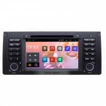 7 inch Android 8.1 Muti-touch Screen autoradio DVD Player for 2000-2007 BMW X5 E53 3.0i 3.0d 4.4i 4.6is 4.8is 1996-2003 BMW 5 Series E39 with GPS Navigation Audio system Canbus Bluetooth WIFI Mirror Link USB 1080P DVR