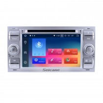 OEM Android 9.0 Radio GPS DVD player navigation system for 2000-2010 Ford FOCUS with Bluetooth  HD 1024*600 touch screen OBD2 DVR Rearview camera TV 1080P Video 4G WIFI Steering Wheel Control USB SD Mirror link