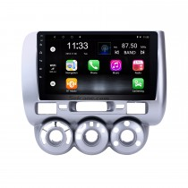 9 inch Touchscreen Android 10.0 GPS Navi Radio for 2004-2007 HONDA Jazz/FIT(Manual AC,LHD)  2006 2007 CITY 2011-2019 EVERUS S1 Bluetooth WIFI Mirror Link USB