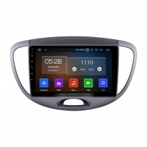 9 inch For 2012 Hyundai I10 Low Version Radio Android 10.0 GPS Navigation System with USB HD Touchscreen Bluetooth Carplay support OBD2 DSP