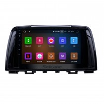 9 inch Android 11.0 GPS Navigation Radio for 2014-2016 Mazda 6 Atenza with HD Touchscreen Carplay AUX Bluetooth support 1080P