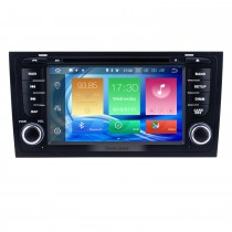 Android 8.0 1997-2004 AUDI A6 S6 RS6 Radio DVD GPS Navigation System with Bluetooth Wifi Steering Wheel Control Mirror Link Backup Camera DVR OBD2 DAB+