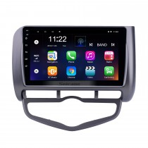9 inch Android 8.1 GPS Navigation Radio for 2006 Honda Jazz City Auto AC LHD with Bluetooth HD Touchscreen support Carplay DVR OBD