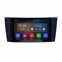 HD Touchscreen 8 inch Android 9.0 Radio GPS Navigation Head unit  for 2002-2008 Mercedes Benz E W211 E200 E220 E230 E240 E270 E280 E300 E320 Benz CLS W219 CLS350 CLS500 CLS55 Benz CLK W209 Benz G  W463 with USB WiFi Bluetooth