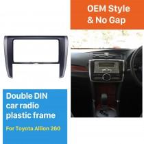 202*102mm Double Din Toyota Allion 260 Car Radio Fascia Stereo Install Frame Audio Player Dash Mount Kit