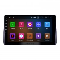 10.1 inch Android 9.0 Radio for 2009-2012 Toyota Wish Bluetooth HD Touchscreen GPS Navigation Carplay USB support TPMS DAB+