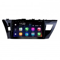 10.1 Inch HD Touchscreen Radio GPS Navigation system Android 8.1 For 2013 2014 2015 Toyota Corolla Steering Wheel Control Bluetooth DVR Carplay USB WIFI Music Rearview