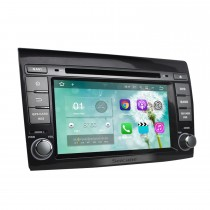 OEM DVD player Android 7.1 navigation system for 2007-2012 FIAT BRAVO with GPS Quad-core CPU Mirror link Radio HD 1024*600 touch screen OBD2 DVR Rearview camera TV 1080P Video 3G WIFI Steering Wheel Control Bluetooth USB SD