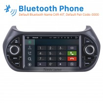Android 8.0 GPS Navigation Bluetooth Radio Head Unit for 2007-2013 FIAT Fiorino Support USB SD OBD2 1080P Aux WIFI DVR Rearview Camera