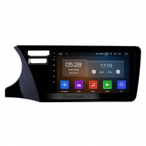 Android 9.0 9 inch GPS Navigation Radio for 2014-2017 Honda City LHD with HD Touchscreen Carplay Bluetooth WIFI USB AUX support Mirror Link OBD2 SWC