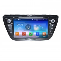 8 inch 2013 2014 Suzuki SX4 Android 8.0 Radio DVD Player GPS navigation system with Mirror link HD 1024*600 touch screen OBD2 DVR Rearview camera TV 1080P Video 3G WIFI Steering Wheel Control Bluetooth USB