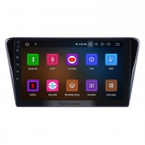 HD Touchscreen 10.1 inch Android 9.0 GPS Navigation Radio for 2014 Peugeot 408 with Bluetooth wifi USB Carplay support DVR DAB+ Steering Wheel Control
