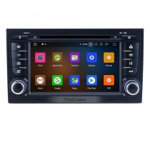 Android 10.0 For 2011 Audi A4 Radio 7 inch GPS Navigation System Bluetooth HD Touchscreen Carplay support Steering Wheel Control DSP