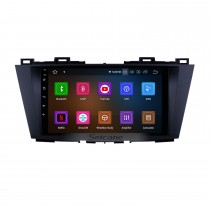 9 inch 2009-2012 MAZDA 5  Android 11.0 GPS navigation system with Radio Mirror link multi-touch screen OBD DVR Rear view camera TV 3G WIFI USB Bluetooth