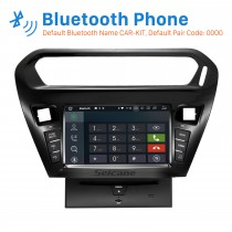 Aftermarket GPS Android 9.0 DVD Player Radio Stereo Upgrade for 2012 2013 CITROEN ELYSEE Peugeot 301 Support Bluetooth USB Aux MP3 1080P Video 3G WIFI Mirror Link