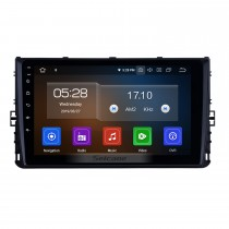 OEM 9 inch Android 9.0 HD Touchscreen GPS navigation system Radio For 2018 VW Volkswagen Universal Bluetooth Support 3G/4G WiFi DVR OBD II Carplay Steering Remote Control
