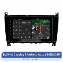 For Mercedes Benz G Class CLK W209 2005-2007 Radio Android 10.0 HD Touchscreen 8 inch GPS Navigation System with WIFI Bluetooth support Carplay DVR