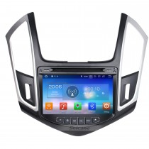 Android 8.0 Radio GPS navigation system Car Stereo for 2015 Chevy Chevrolet CRUZE with Bluetooth DVD player Mirror link HD 1024*600 touch screen OBD2 DVR Rearview camera TV 1080P Video 3G WIFI Steering Wheel Control  USB