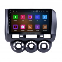 OEM 9 inch Android 9.0 Radio for 2002-2008 Honda Jazz Manual AC Bluetooth HD Touchscreen GPS Navigation Carplay support Rearview camera
