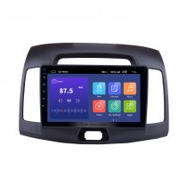 9 inch 2007-2011 Hyundai Elantra Android 10.0 Radio GPS Navigation System with Mirror link Bluetooth OBD2 DVR digital TV TPMS Steering Wheel Control