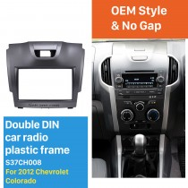 2 DIN 2012 Chevrolet Colorado Car Radio Fascia Stereo Dashboard Surrounded Installation frame Trim Panel Car Kit Face Plate