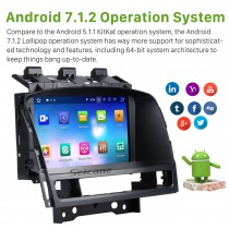 8 inch Android 8.0 HD touch screen for 2010-2015 Buick Excelle GT/XT Radio DVD player GPS navigation system with Bluetooth Rearview Camera 1080P Video 3G WIFI Steering Wheel Control USB Mirror link OBD2 DVR