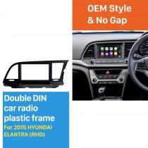 Awesome 2Din 2015 HYUNDAI ELANTRA RHD Car Radio Fascia Stereo Install Frame CD Trim Dash Installation Kit